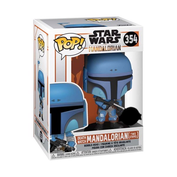 Star Wars: The Mandalorian - Death Watch Metallic Pop! Vinyl Figure - Packshot 2