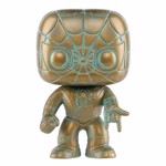 Marvel - 80th Anniversary Spider-Man Patina Pop! Vinyl Figure - Packshot 1