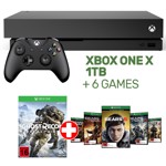 Xbox One X 1TB Console + 6 games - Packshot 1