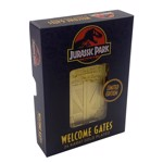 Jurassic Park - 24k gold plated Welcome Gates - Packshot 3
