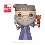 "Harry Potter - Dumbledore with Fawkes 10"" Pop! Vinyl Figure - Packshot 1"