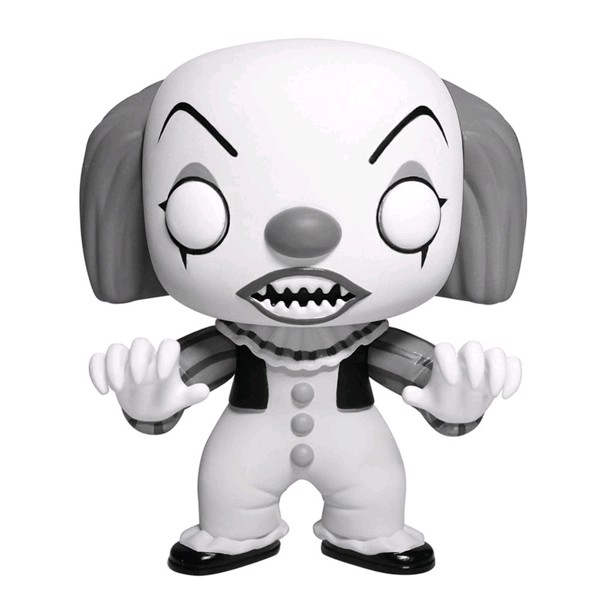 IT - Pennywise Black and white Pop! Vinyl Figure - Packshot 1