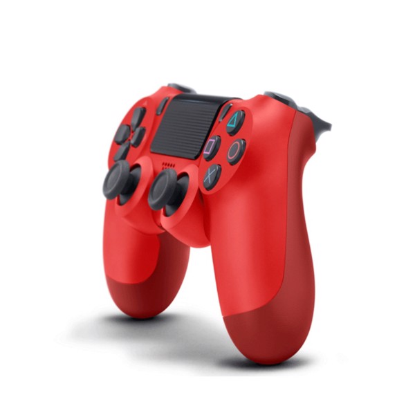 New PlayStation 4 DualShock 4 Wireless Controller - Magma Red - Packshot 2
