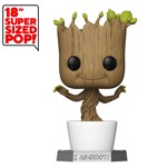 "Marvel - Guardians of the Galaxy:  Dancing Groot 18"" Pop! Vinyl Figure - Packshot 1"