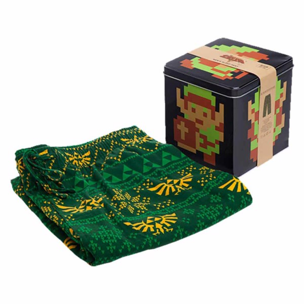 The Legend Of Zelda - 8-bit Lounge Pants with Collectors' Tin - Packshot 1