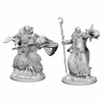 Dungeons & Dragons - Nolzur's Marvelous Miniatures - Human Male Wizard  - Packshot 1