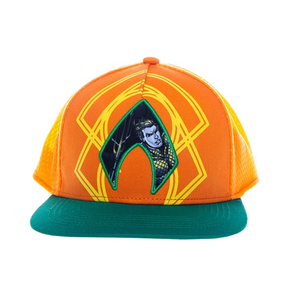 DC Comics -  Aquaman - Character Embroidered Cap - Packshot 1