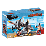 How to Train Your Dragon - Eret with 4-Shot Ballista PlayMobil Construction Set - Packshot 3