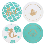 Disney - The Little Mermaid Princess Ariel Themed 4-Pack Coaster Set - Packshot 1