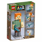 Minecraft - LEGO Alex BigFig with Chicken - Packshot 6