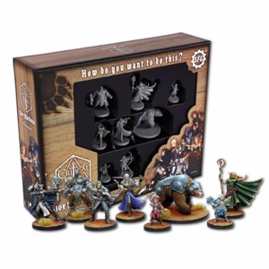 Dungeons & Dragons - Critical Role Series One Vox Machina Miniatures