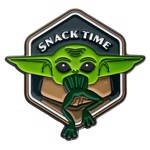 Star Wars - The Mandalorian The Child Snack Time Lapel Pin - Packshot 2