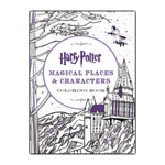 Harry Potter - Magical Places & Characters Colouring Book - Packshot 1