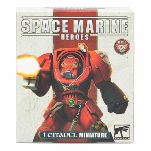 Warhammer 40,000 - Space Marine Heroes Citadel Miniature Figure Series 2 (Single Blind Box)