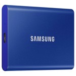 Samsung Portable SSD T7 500GB Solid State Drive - Packshot 2