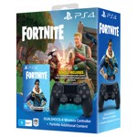 New PlayStation 4 DualShock 4 Wireless Controller + Fortnite Additional Content - Packshot 1