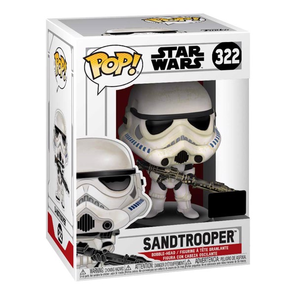 Star Wars - Sandtrooper NYCC19 Pop! Vinyl Figure - Packshot 2
