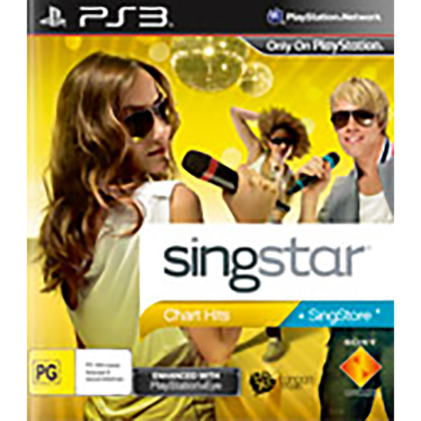 Singstar Chart Hits - Packshot 1