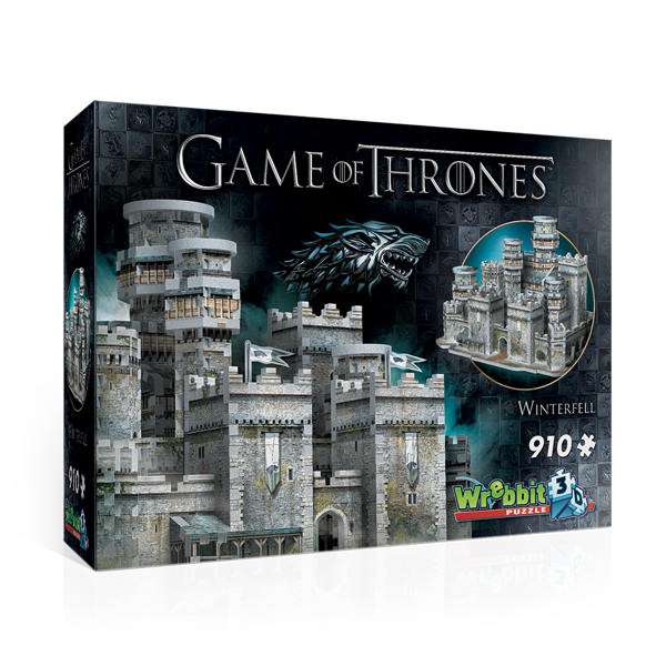 Game Of Thrones - Winterfell 3D Puzzle - Packshot 1