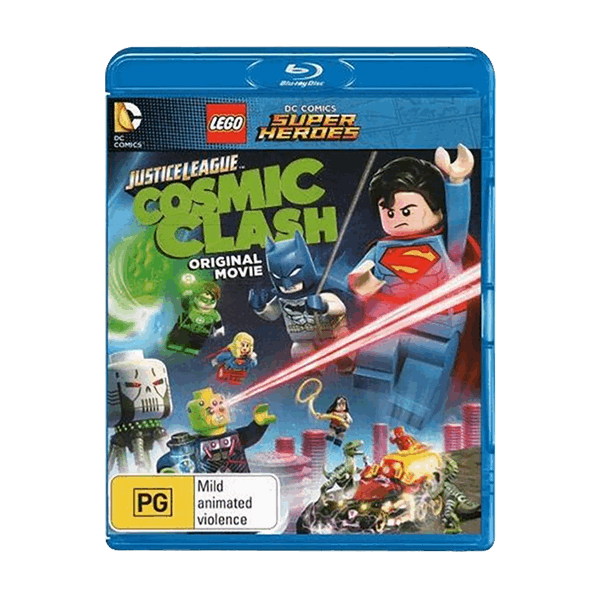 DC Comics - LEGO Justice League: Cosmic Clash Blu-ray - Packshot 1