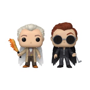 Good Omens - Aziraphale & Crowley with Wings Pop! 2-Pack Pop! Vinyl Figure - Toys & Gadgets