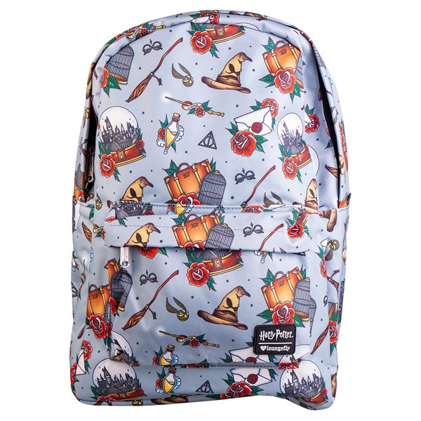 Harry Potter - Magical Objects Tattoo Loungefly Backpack - Packshot 1