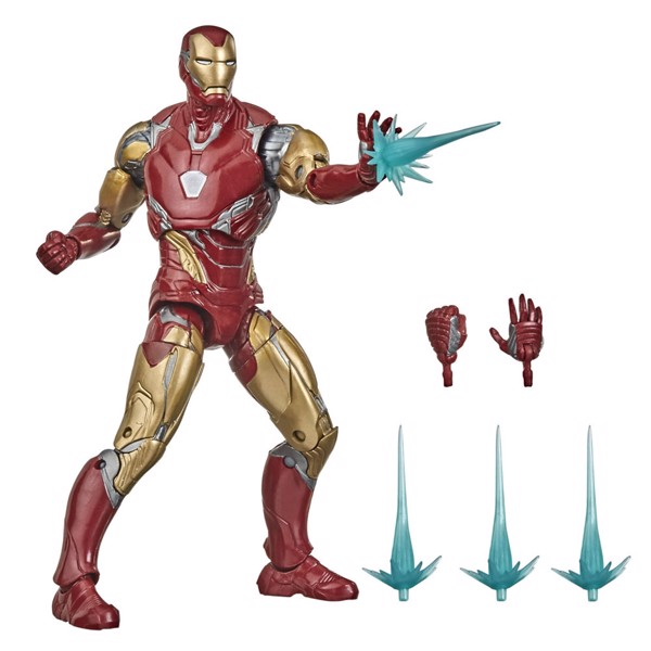 "Marvel - Avengers: Endgame Legends Series Iron Man Mk LXXXV 6"" Action Figure - Packshot 1"