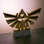The Legend of Zelda Hyrule Crest Lamp - Packshot 3