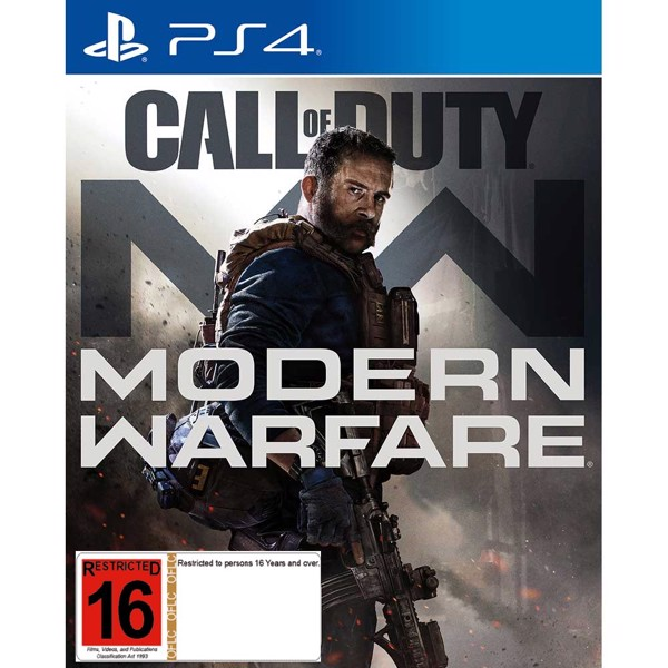PlayStation 4 1TB Slim Call of Duty Modern Warfare Console - Packshot 3