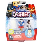 DC Comics - Justice League 4 Pack Ooshies Mini-Figures - Packshot 1