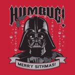 Star Wars - Humbug Merry Sithmas Christmas T-Shirt - XS - Packshot 2