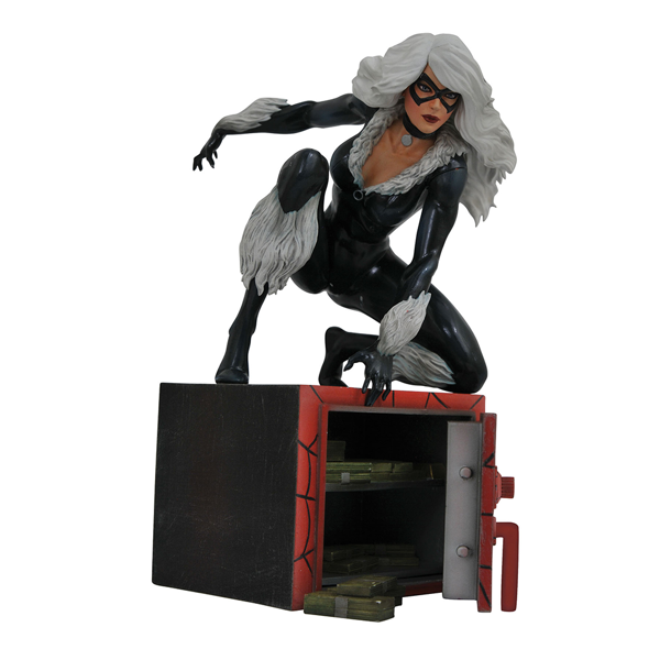 Marvel - Spider-Man - Black Cat Statue - Packshot 1