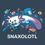 Snaxolotl T-Shirt - XL - Packshot 2