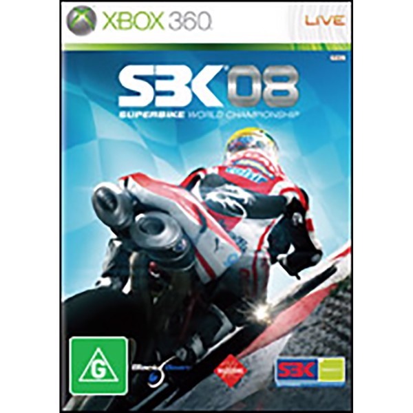 SBK 08 Superbike World Championship - Packshot 1