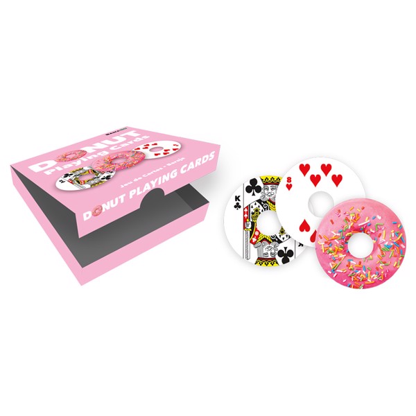 Donut Cut-Out Playing Cards - Packshot 1