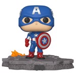 Marvel - Captain America Avengers Assemble Deluxe Pop! Vinyl Figure - Packshot 1