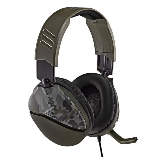 Turtle Beach® Recon 70 Green Camo Gaming Headset - Packshot 1