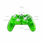 Xbox One Rock Candy Wired Controller - Aqualime - Packshot 4