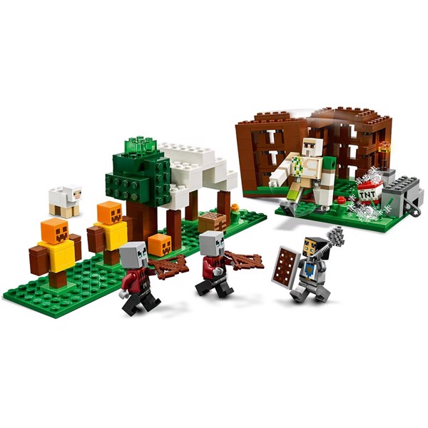Minecraft - LEGO The Pillager Outpost - Packshot 3