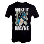 DC Comics - Batman Make It Wayne T-Shirt - XS - Packshot 1