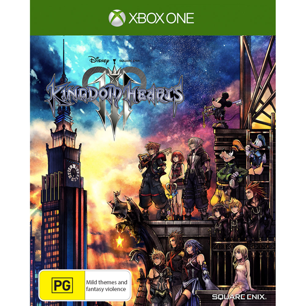 Kingdom Hearts III - Packshot 1
