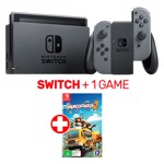 Nintendo Switch Grey Console + 1 game - Packshot 1