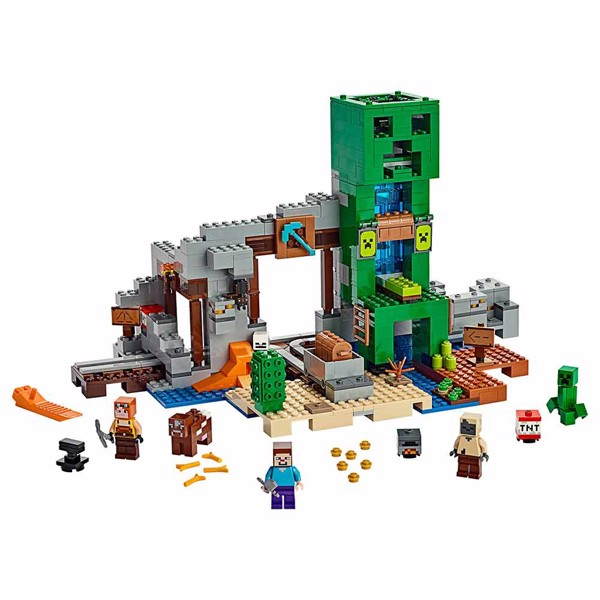 Minecraft - LEGO The Creeper Mine - Packshot 3