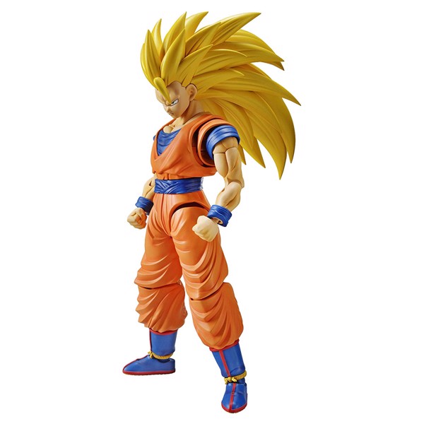 Dragon Ball - Super Saiyan 3 Son Goku (Renewal) Figure-Rise Plastic Model Kit - Packshot 1