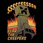 Minecraft - Fear The Creeper T-Shirt - Packshot 2