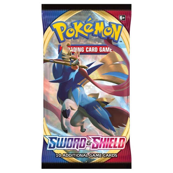 Pokemon - TCG - Sword & Shield Booster Pack - Packshot 2