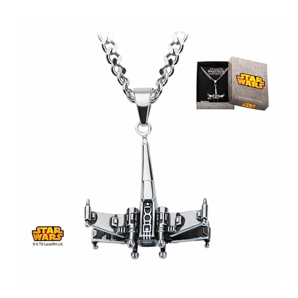 Star Wars - 3D X-Wing Starfighter Pendant with Chain - Packshot 2