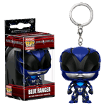 Mighty Morphin' Power Rangers - Power Rangers Movie - Blue Ranger Pop! Vinyl Keychain - Packshot 1