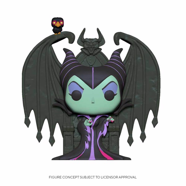 Sleeping Beauty - Maleficent on Throne Deluxe Pop! Vinyl Figure - Packshot 1