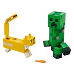 Minecraft - LEGO BigFig Creeper™ and Ocelot - Packshot 2